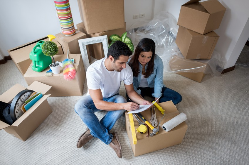 Check off your packing check list as well as items to tidy up your home.