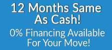 A.C. White 12 months as cash financing available
