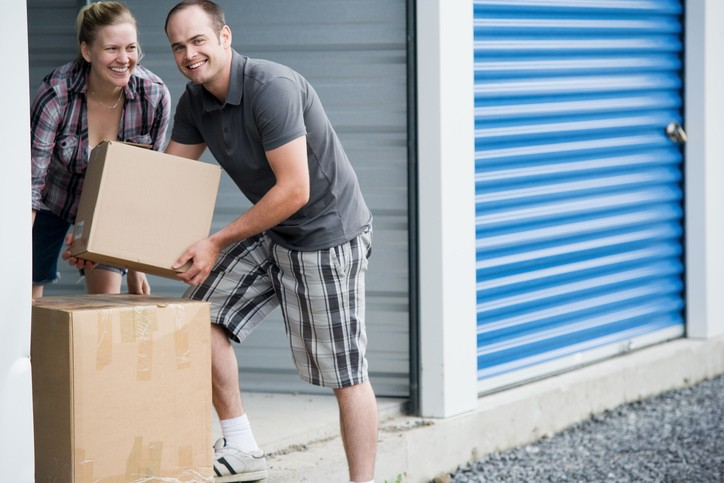 Organizing your mini storage unit